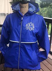 Rain Jacket with Print Lining