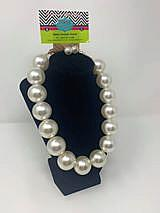 Large Pearls with adjustable chain 18""