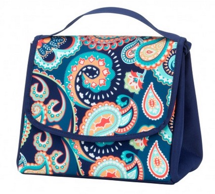 Emerson Paisley Lunch Bag