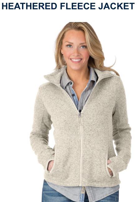 Heather Fleece Jacket