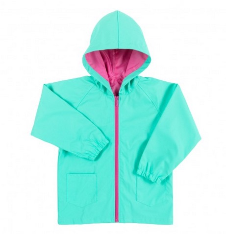 Mint Kids Rain Jacket